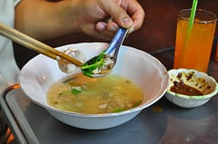 fish soup vegetables