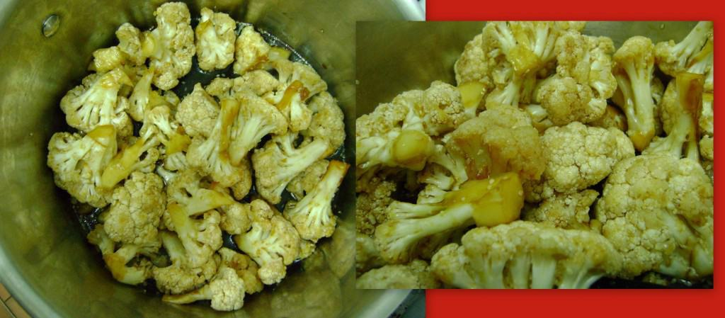 stir-fried cauliflour