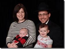 Chavi Cohen and family