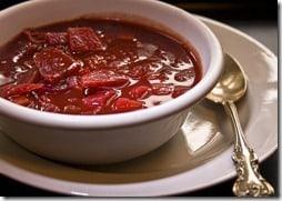 cold borscht beet soup